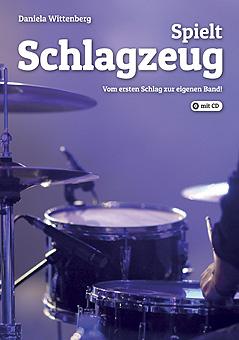 04 Cover Spielt Schlagzeug-Int Kl in Schlagzeugbuch